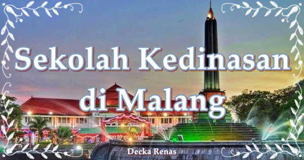 2 Sekolah Kedinasan di Malang dan 3 PTS Favorit